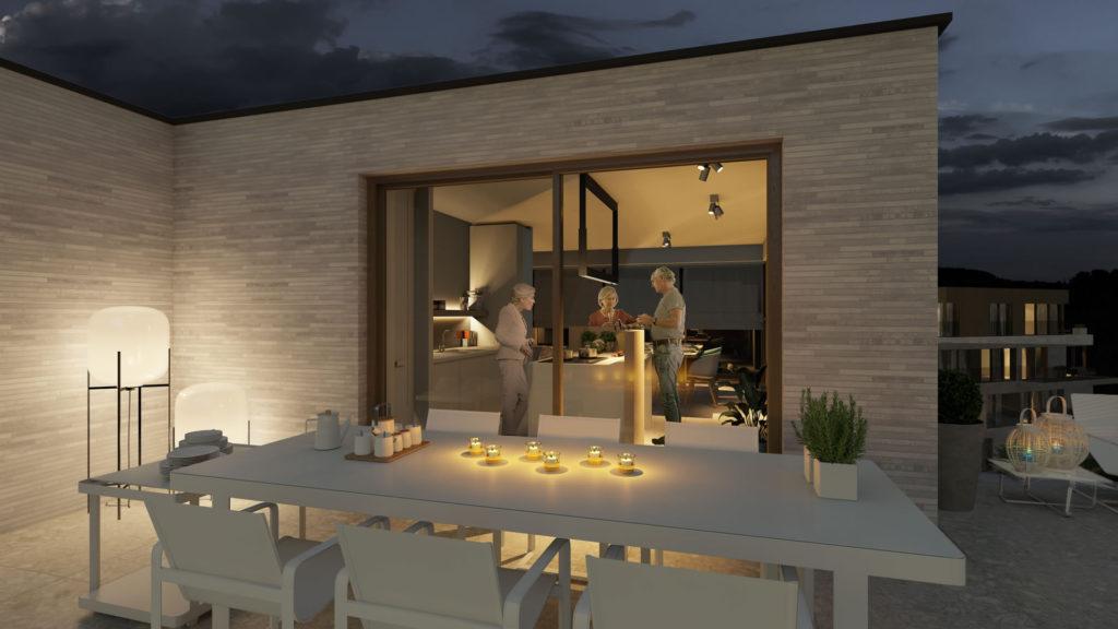 nieuwbouwprojecten assistentiewoningen te koop Beveren Appartement leefterras